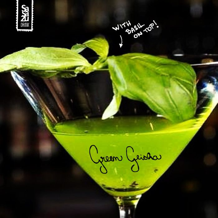 GREEN GEISHA - contains only fresh ingredients..