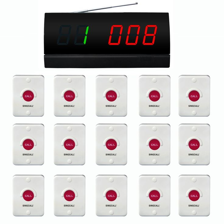SINGCALL Wireless Calling System,Wireless Restaurant Service Call System,Pack of 15 pcs of Pagers and 1 pc Display Receiver. APE2000: 01.Display a groups of three-digit. Can speech broadcast operation, with voice reporting function. 02.Each pager can set different chord music. Twelve beautiful chord music 03.With a 999 call extension,it can be displayed in English or figures. 04.The display time length of the call number can be set arbitrarily. Length of call sound can be selected…
