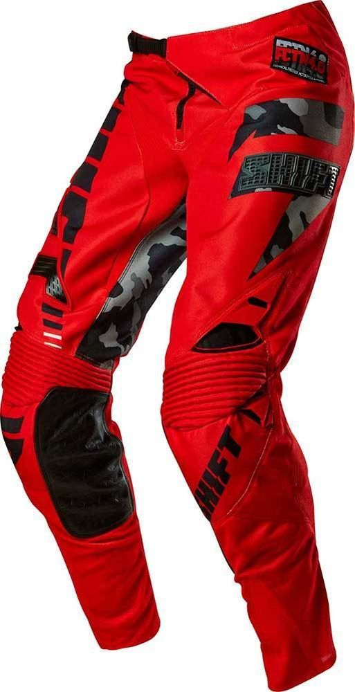 2015 Shift Faction Camo Motocross Dirtbike MX ATV Riding Gear Adult Mens Pants #Shift BRANDON