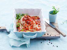Kyllingfilet med sitron og paprika