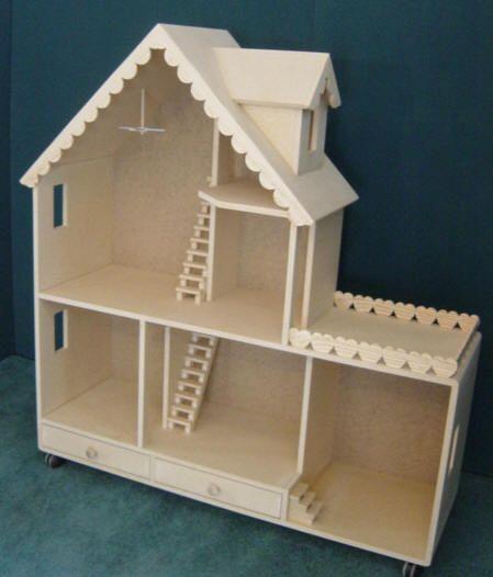 barbie scale dolls house