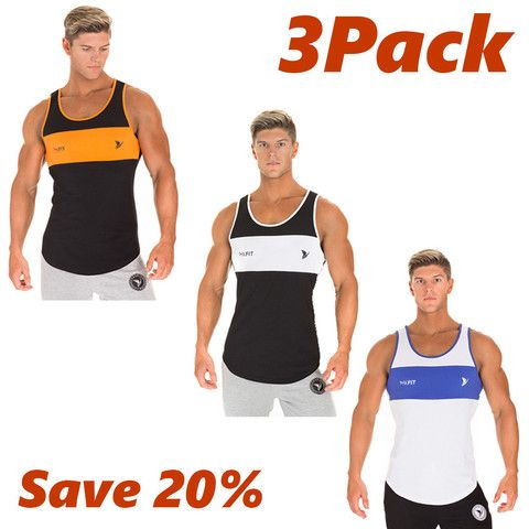 Get the best offer On Tanks. 3 three of our Premier Tank's for only $59.95. http://phxfit.co/collections/men/products/phxfit-mens-premier-tank-3pack #phxfit
