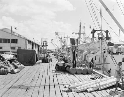 Darwin wharf 1958