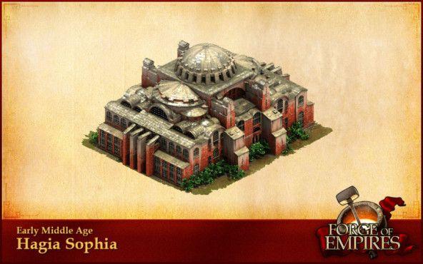 Forges of Empire: Monumentale Bauwerke Hagia Sophia©InnoGames
