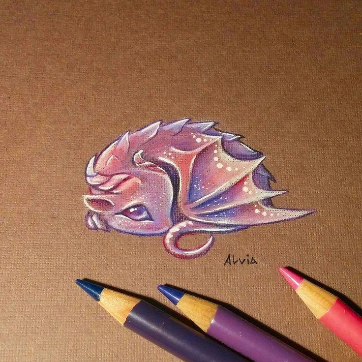 ..Just a small cute dragon ❤ ETSY SHOP   INSTAGRAM FACEBOOK TUMBLR   PINTEREST TWITTER &...