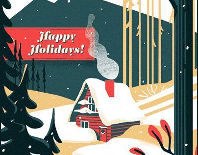 Happy Holidays! #gif #animation