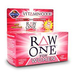 Garden of Life Vitamin Code Raw One for Women
