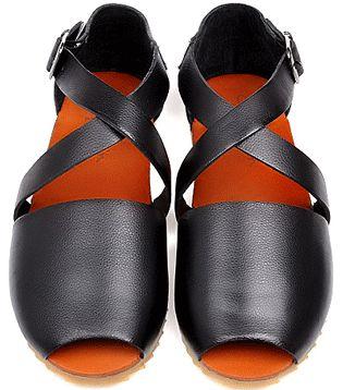 GrabMyLook Roman Gladiator Cross Strap Flap Open Toe Sandal Mens Shoes Loafer Flip Flop