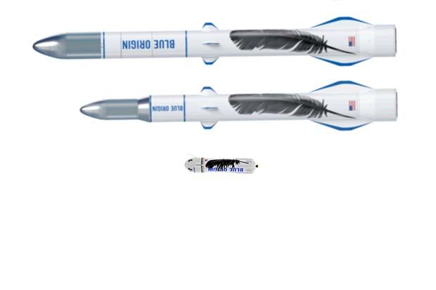 Blue Origin's New Glenn rocket could be the largest rocket on Earth when it launches.  See how it stacks up against the company's New Shepard suborbital rocket and others.