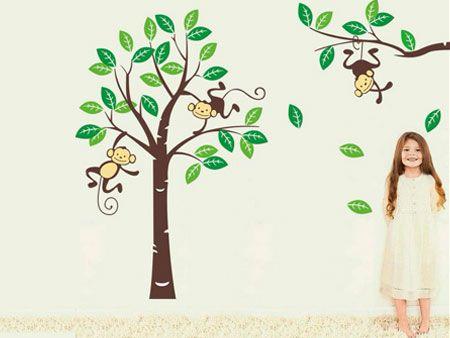 Op zoek naar een mooie Muursticker boom kinderkamer? Met deze muursticker tover je binnen enkele minuten de kinderkamer om! Bekijk al onze muurstickers.
