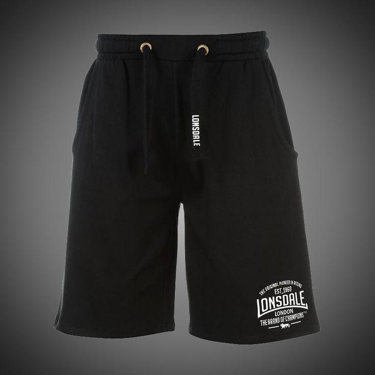 Pánské kraťasy Lonsdale Brand of Champions black