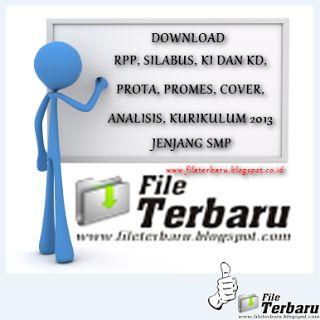 Download RPP Silabus Prota Prosem KKM SK KD Kurikulum 2013 Jenjang SMP Bahasa Indonesia Kelas VIII Lengkap 2016