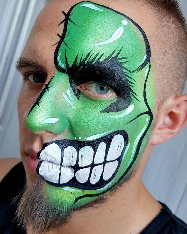Hulk z brodą :D  #bodypaint #facepaint #hulk #avengers #marvel #facepainting #malowanietwarzy #makeup #makeupartist #diamondfx #photooftheday #funny #wroclaw #dzierzoniow #dzierżoniów