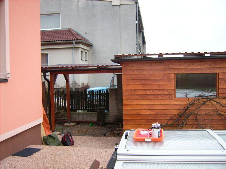 Pergola s domkem na nářadí 21 | Zakázková výroba - pergoly