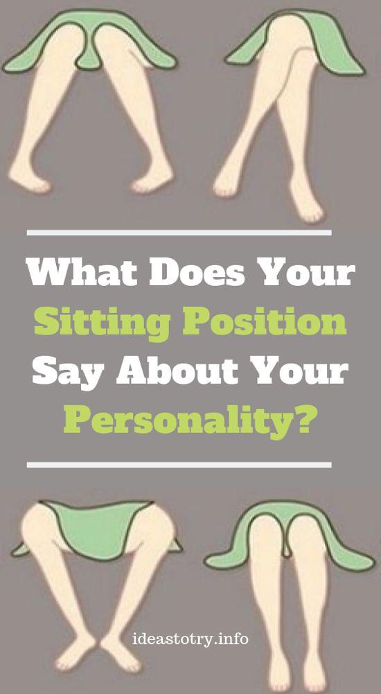 Was sagt Ihre Sitzposition über Ihre Persönlichkeit aus?   – Exercise