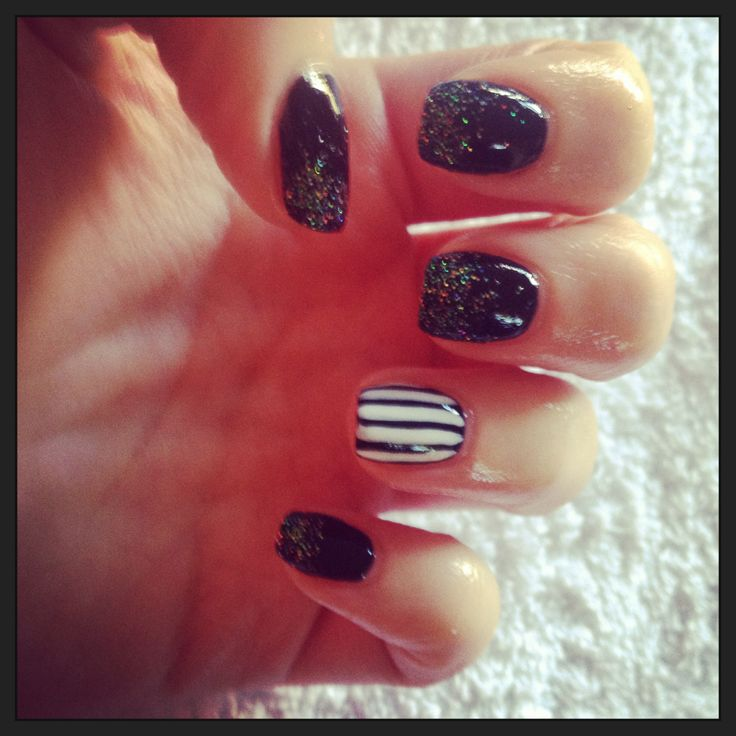 Halloween Nail Art Designs Without Nail Salon Prices: Halloween Shellac