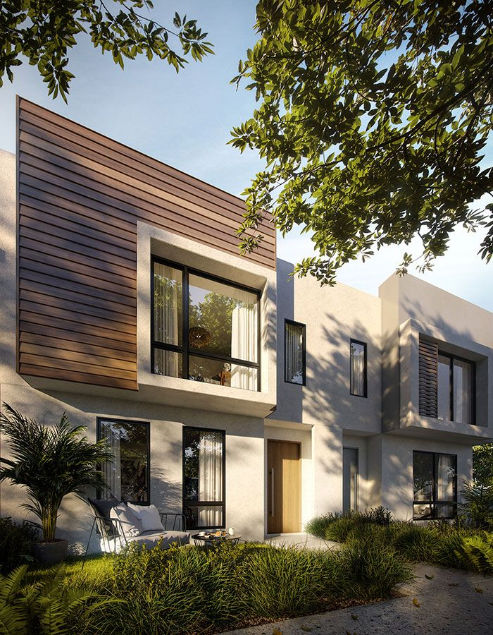 Elements Estate. Townhome designed by Shape Homes. 3D created by JAM3D