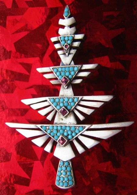 124 best art deco southwest images on pinterest for Thunderbird jewelry albuquerque new mexico