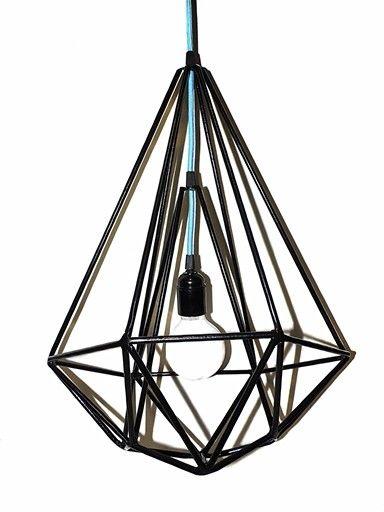 Кристал из прутков от дизайн мастерской Тайник Светильников.