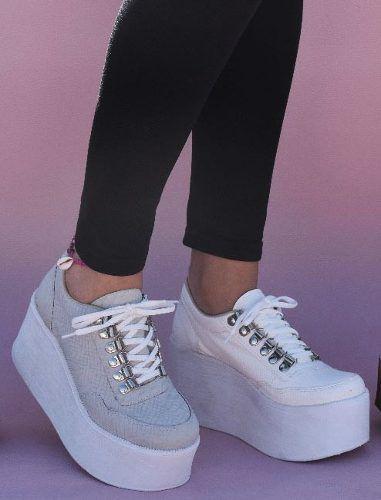 e79cf0e1 Zapatillas Sneakers Plataforma Mujer - $ 899,00 en Mercado Libre ...