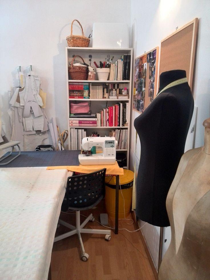 My studio, Wonderland by Lavinia Ilies