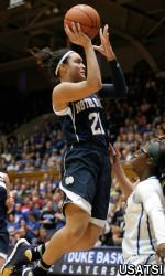For the second time in her career, Notre Dame senior guard/tri-captain Kayla McBride (Erie, Pa./Villa Maria Academy) has earned a pair of major weekly honors, having been selected as both the espnW National Player of the Week and the Atlantic Coast Conference (ACC) Player of the Week, it was announced Monday.