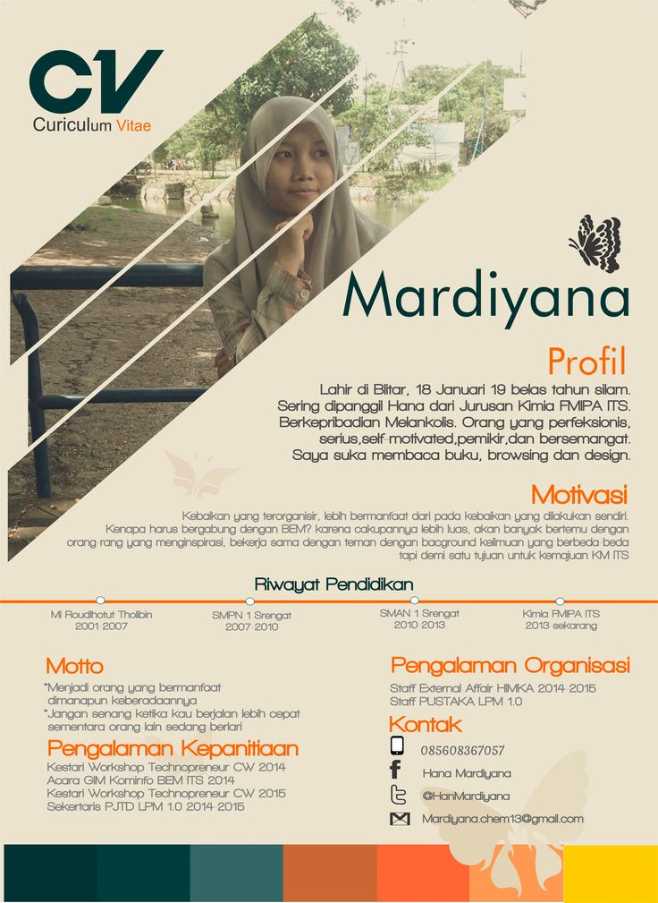 Graphic Design-CV #toscaorange  This my cv. I made when there is a vacancy to be staff in an organization at my college.
