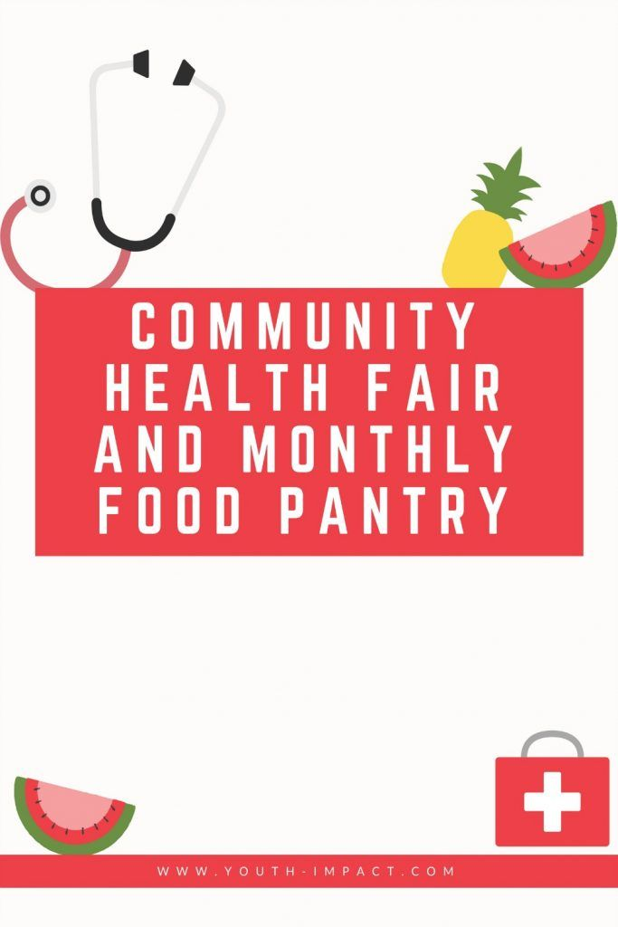 Community Health Fair and Monthly Food Pantry  Read how
