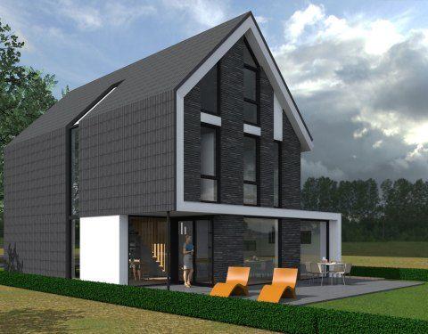 25 beste idee n over moderne huizen ontwerpen op pinterest interieurontwerp keuken - Deco moderne woning ...