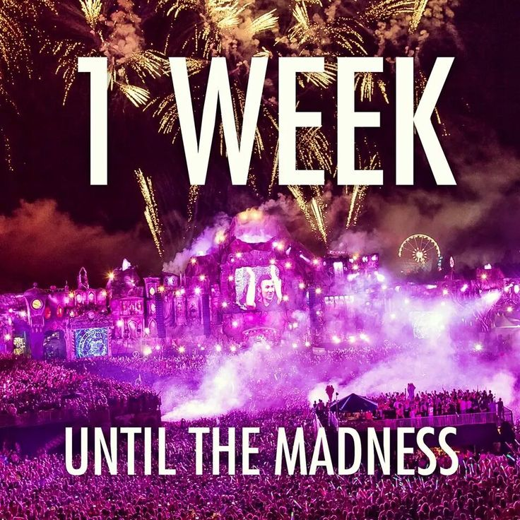 1 week until the madness