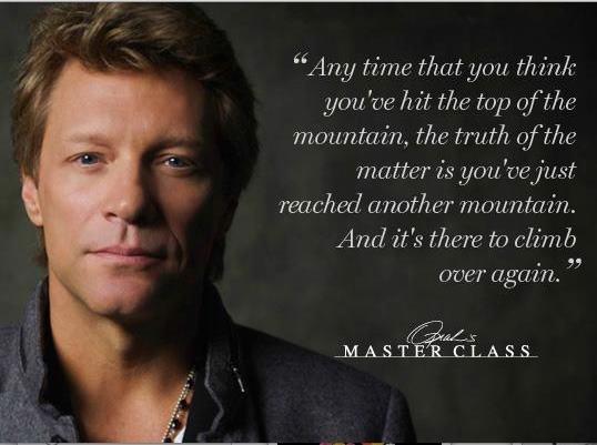 Jon Bon Jovi, Oprah's Master Class