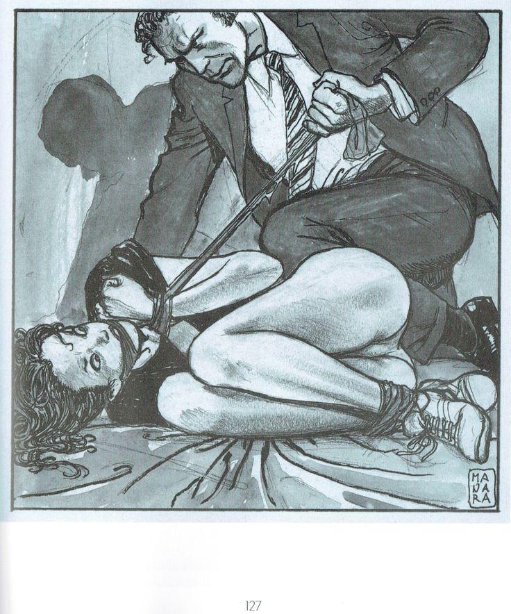 Manara Maestro dell'Eros-Vol. 22, La letteratura illustrata-127