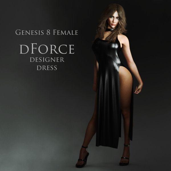 FREE dForce Designer Dress for Genesis 8 Female http://www.most-digital-creations.com/freestuff.htm