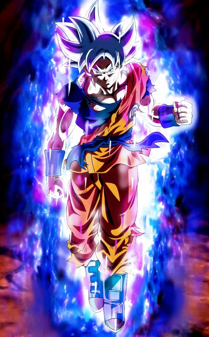 Goku Ultra Instinct Mastered Dragon Ball Super Dragon Ball Goku