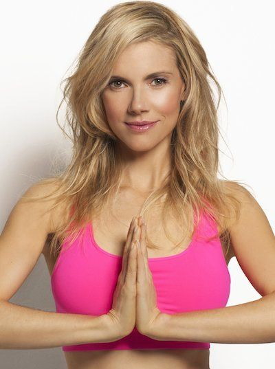 Follow Kristin McGee, celebrity yoga instructor, through this yoga video for beginners. Even if you're an advanced yogi, this flow is still perfect for a stress-relieving workout.