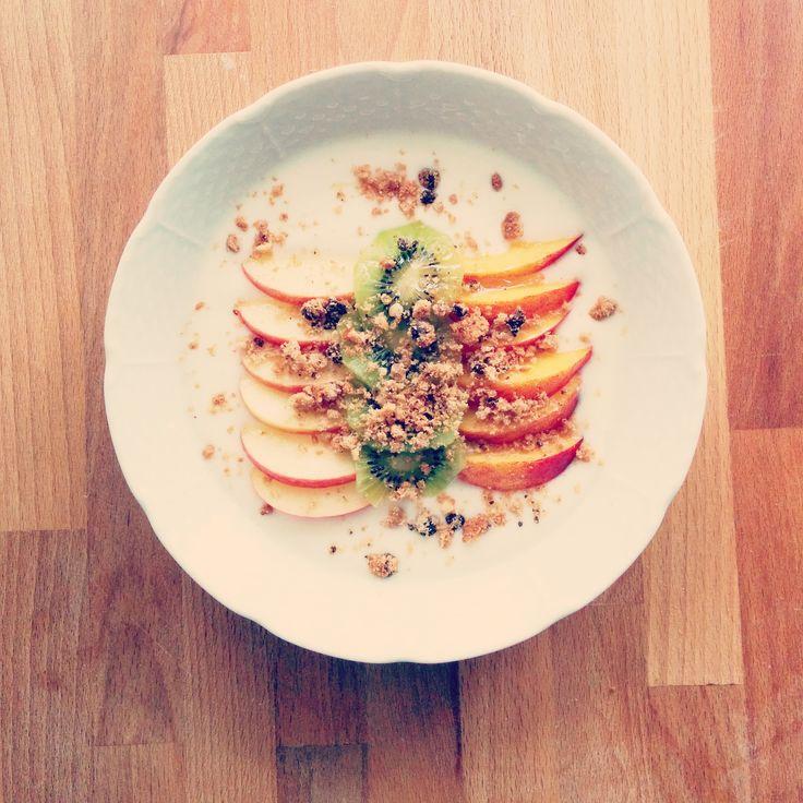 Petit-déjeuner vitaminé ! >>http://www.pandappetit.fr/recettes/petitdejeunervitamine.html