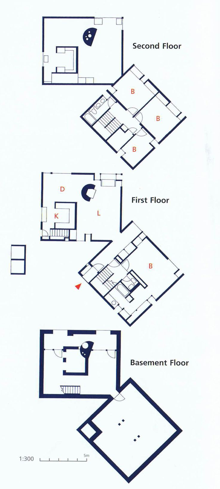 Norman fisher house plan hatboro pennsylvania 1967 for House plans pa