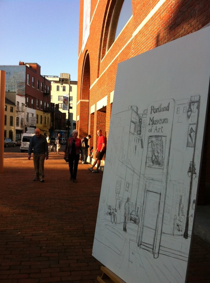The portland museum of art is located at 7 congress square for Portland maine museum of art