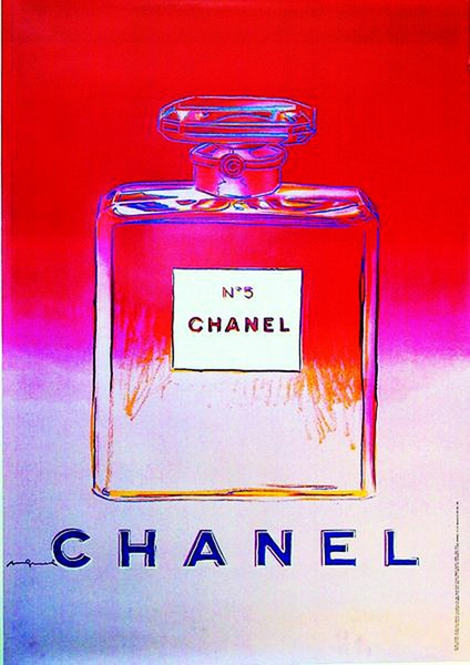 Warhol Chanel N 5 Art Print