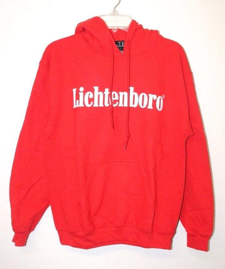 BLTEE Brian Lichtenberg Lichtenboro Red Hoodie Pullover Sweatshirt *S-L #BrianLichtenberg #SweatshirtCrew