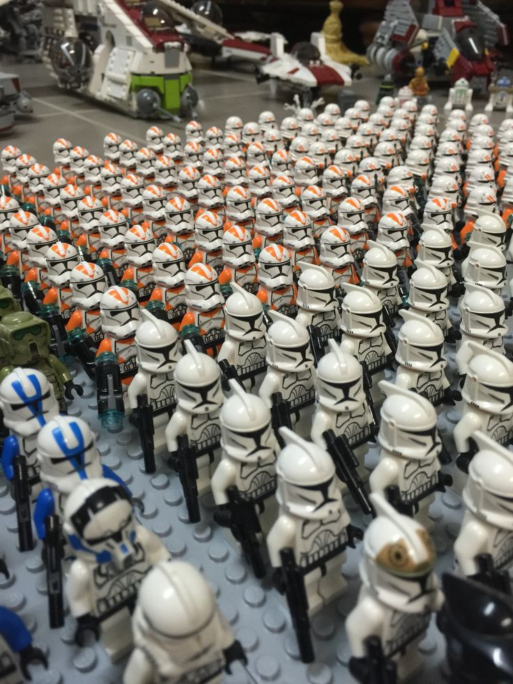 Lego clone army 2014 going to 2015!