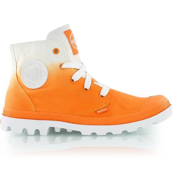 palladium WMNS BLANC HIGH orange bei KICKZ.com
