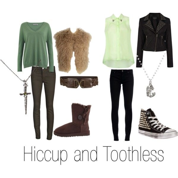 """Hiccup and Toothless"" by michelle-geiser on Polyvore"
