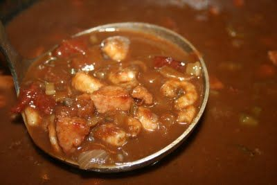 Shrimp and Andouille Gumbo with Okra | Gumbo, Okra and Shrimp