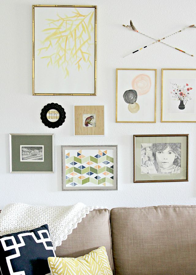 Perfect How To Curate A Gallery Wall