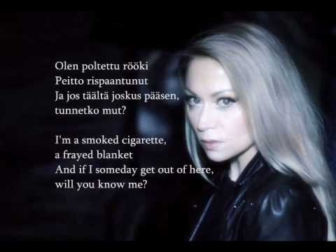 Anna Eriksson - (If I had a heart) Jos mulla olisi sydän - English translation & Finnish lyrics