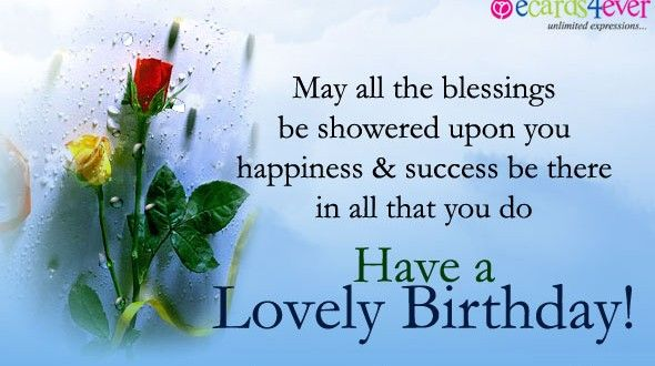 Beautiful  birthday wishes on facebook
