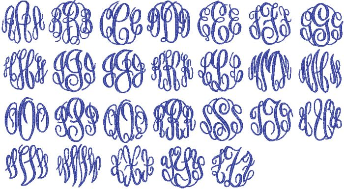 Free Monogram Fonts | Fonts for Names and/or Monograms