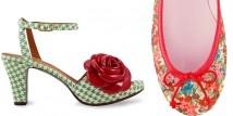 Scarpe donna estate 2013 - Chie Mihara, PrettyBallerinas e Ursula Mascarò troviamo un vero e proprio trionfo del romanticismo, della 'flower mania'.