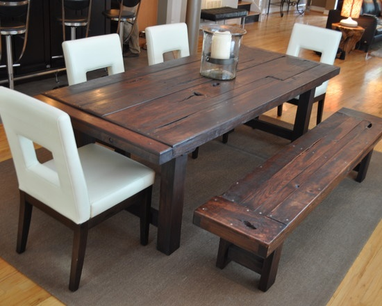 Best 25+ Distressed Dining Tables Ideas On Pinterest | Refinish Table Top,  Paint Wood Tables And Large Dining Room Table